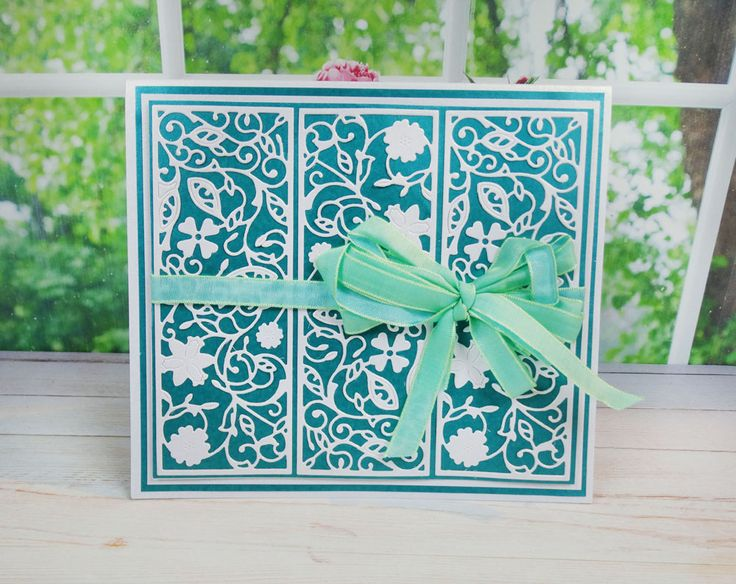 Floral Panel (D456) | Tattered Lace