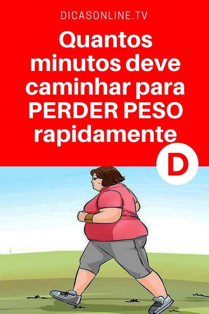 Caminhada para emagrecer | Quantos minutos deve caminhar para PERDER PESO rapidamente? Saiba quantos passos deve dar por dia para perder peso.