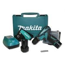 Kit parafusadeira furadeira makita lithium bateria 12v litio com maleta e 2 baterias com coldre, porta bits e maleta profissional