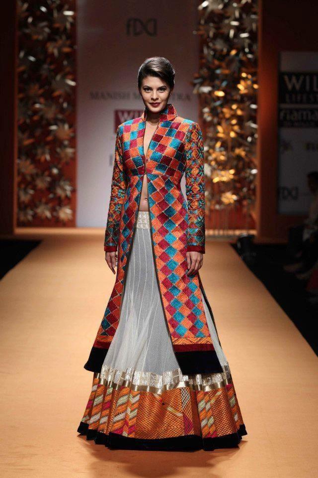 #WIFW AW'13 - Manish Malhotra #Phulkari