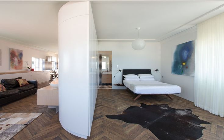 Bondi Apartment - Bedroom and Living Space