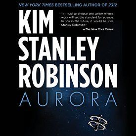 So this is happening: I just bought Aurora by Kim Stanley Robinson, narrated by Ali Ahn #AudibleApp.