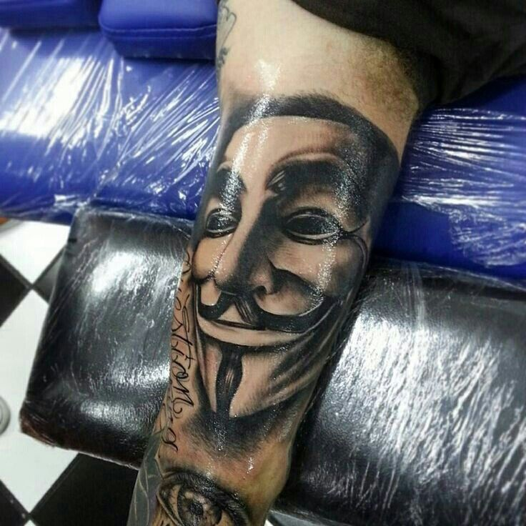 V For Vendetta Mask Tattoo 83 best V for V...