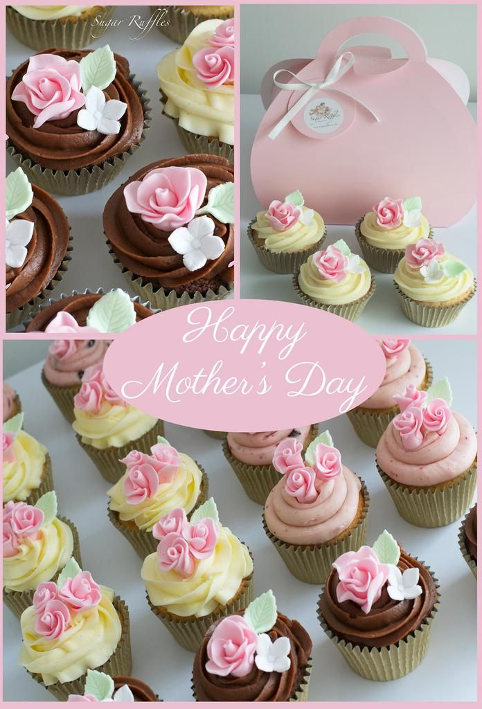 Wedding Mothers Day Cupcakes Mothers Day Ideas