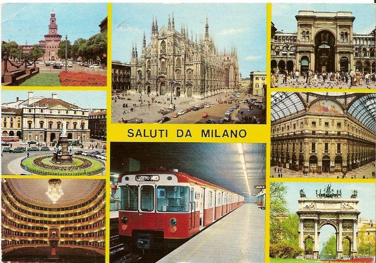 Saluti da Milano   #postcard