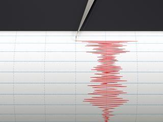 Lekkie trzęsienie ziemi we wsi Amen niedaleko Drenthe #popolsku