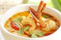 Thai Tom Yum Goong Soup