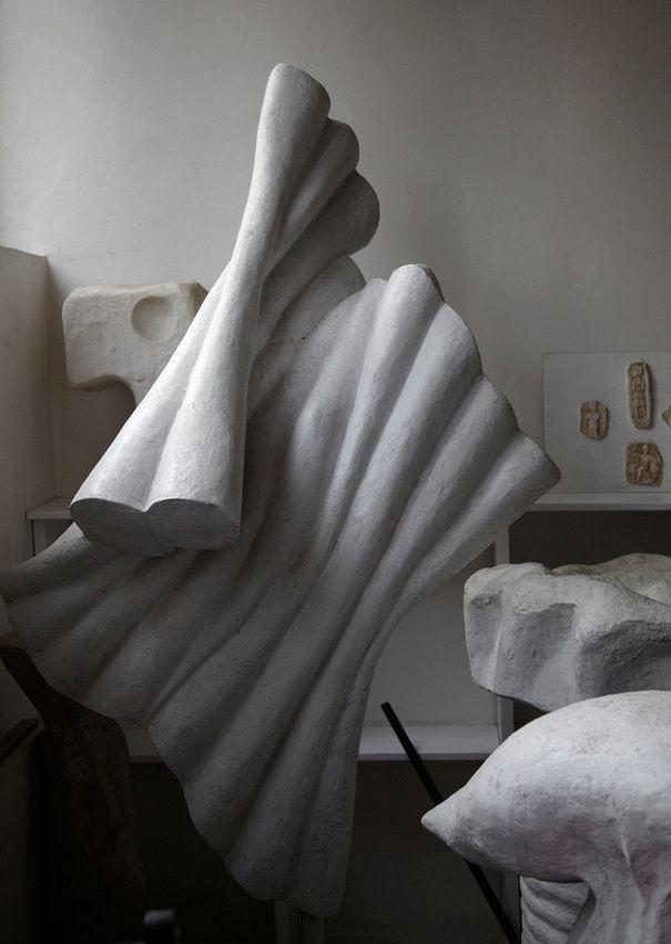 Věra Janoušková atelier in Prague