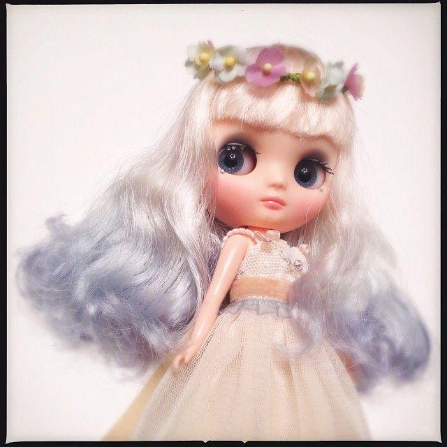 .@Miyuki Ochiai | この子の髪色、とっても綺麗!幽霊をイメージして染めたよ^o^ | Webstagram - the best Instagram viewer