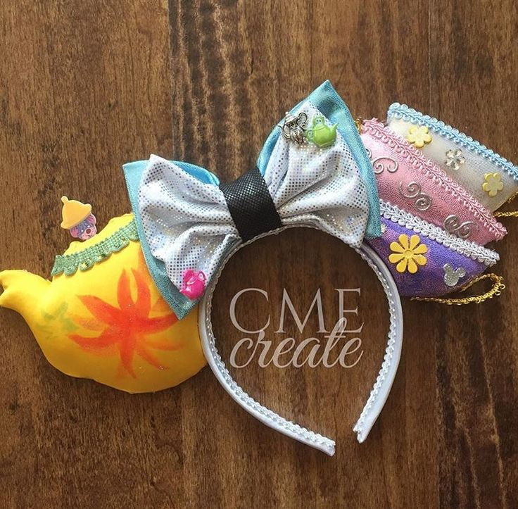 Alice in Wonderland Mad Tea Party Mickey mouse ears
