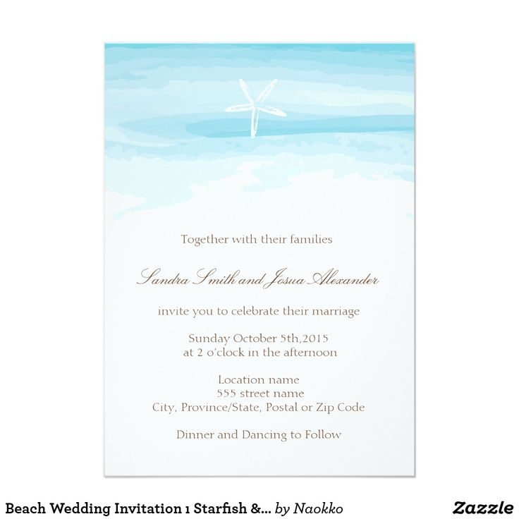 103 best budget beach wedding invitations images on pinterest beach wedding invitation starfish sea stopboris Choice Image