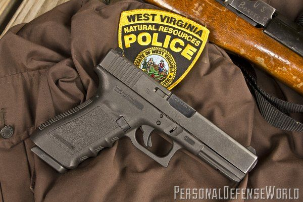 Glock game wardens personal defense world wv natural for Maryland fish and game