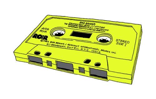 neon cassette!