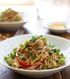 SOBA AND CHICKEN SALAD RECIPE