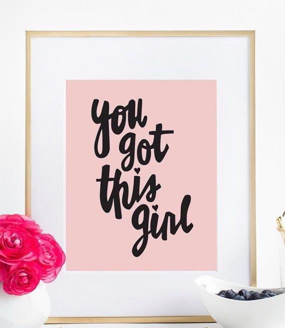 Heb je dit meisje - 8 x 10, typografie afdrukken, citeer afdrukken, inspirerende afdrukken  Inspirerende citaat afdrukken, de perfecte motiverende typografie muur drukken onze afdrukken komen ingelijst. De witte frames afgebeeld zijn de IKEA RIBBA FRAME en kunnen online worden gekocht bij Ikea. Stijlnummer 401.010.40.  ★ PRODUCT SKU # DBM160 ★  ♥ Prints komen niet ingelijst, ingelijste afbeeldingen zijn net zo ♥ Grootte: 8 X 10 ♥ Kleuren kunnen enigszins variëren afhankelijk van uw monitor ♥…