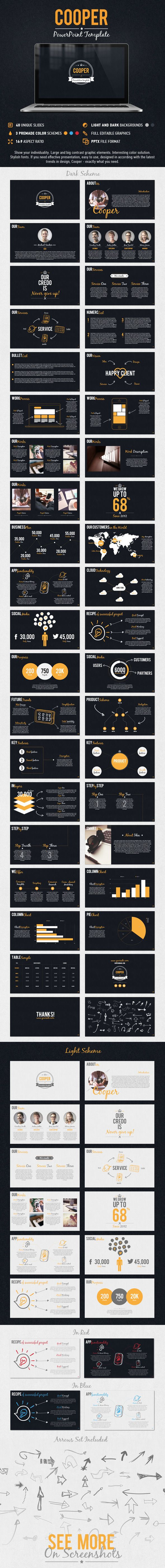 Cooper PowerPoint Presentation Template