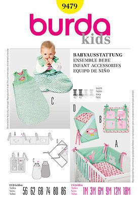 Sewing Baby Crib Bumpers - Crib Bumpers Sewing Pattern