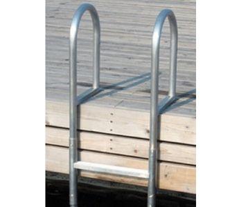 5 Step Version Dock Ladder Slide Up From Dock Edge In 2019