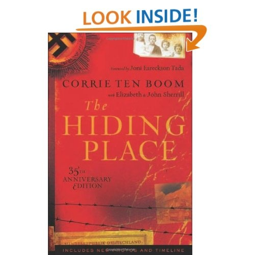 a literary analysis of the hiding place by corrie ten boom Corrie ten boom was that clockmaker although their hiding place was cleverly hidden behind a false wall in corrie's room, the ten boom corrie ten boom museum.