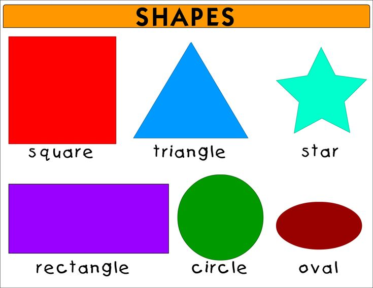 25 Best Shapes And Colors Hope Learn Images On Pinterest