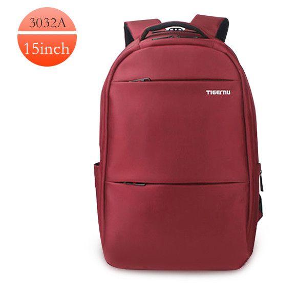 2016 Tigernu Brand Waterproof Men Backpack Business Computer Backpack Bag Women Backpac Men's Laptop Bag Backpack 15.6