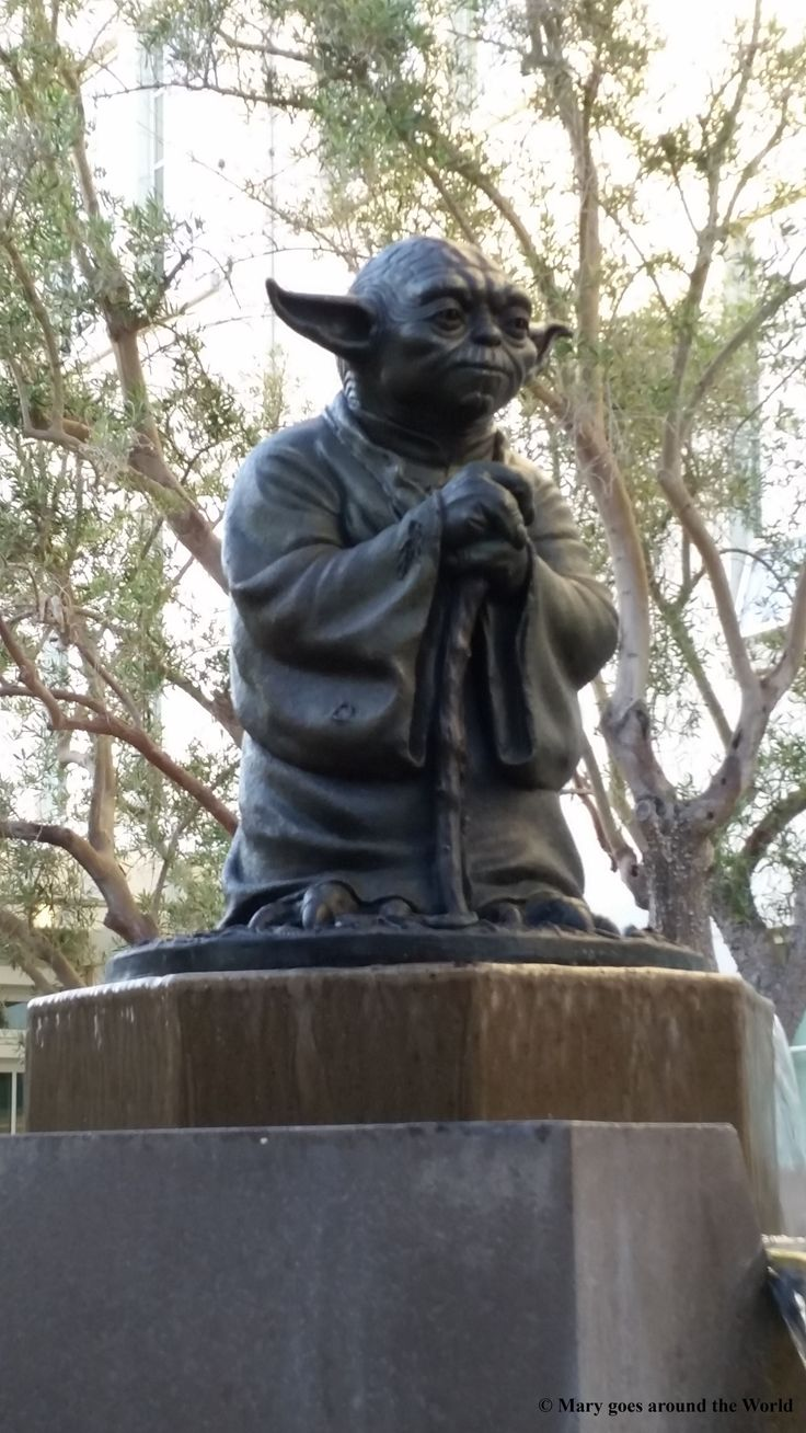 USA Rundreise - San Francisco - Luca Arts Yoda Brunnen