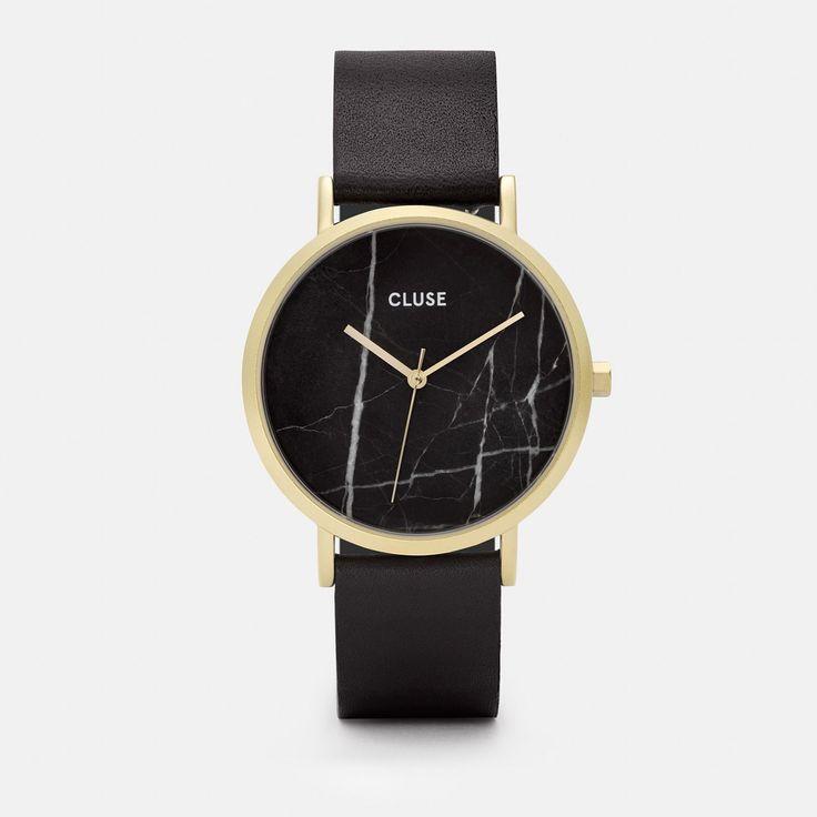 La Roche Gold Black Marble/Black