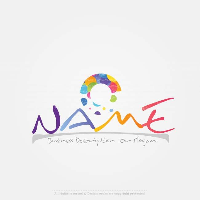 Create a Logo – Art colors logo templates