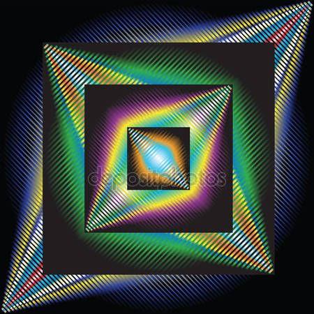 Stáhnout - Abstraktní pozadí, optické umění — Stock obrázek #2852062