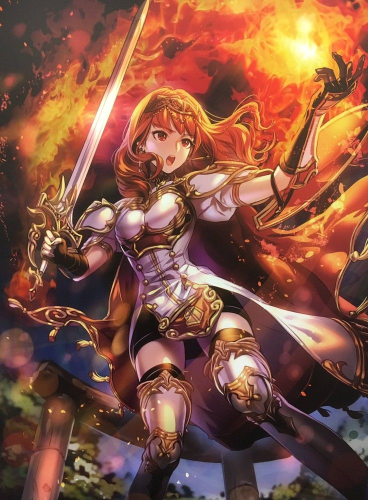 Fire Emblem Echoes: Shadows of Valentia - Celica