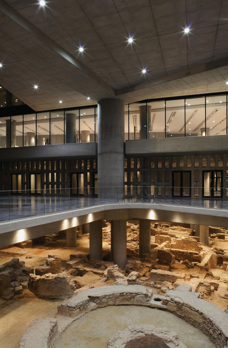 New Aropolis museum built atop working archaeological excavation [Greece]