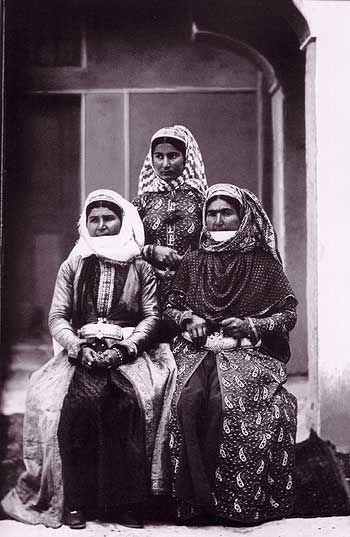 Armenian women in Iran during Qajar era, 1873