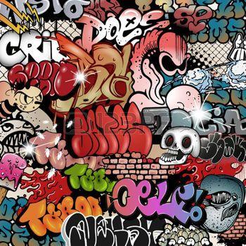 graffiti dibujos animados im225genes de archivo vectores