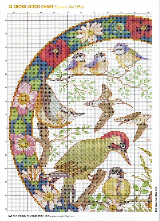 Gallery.ru / Фото #44 - The world of cross stitching 074 август 2003 - tymannost