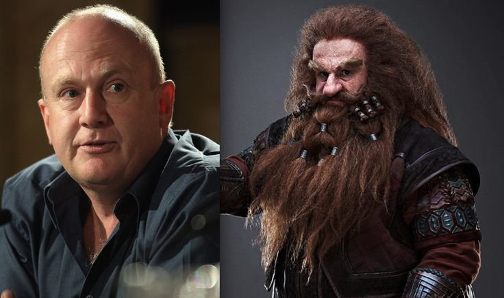 "The Dwarf Cast (before and after make-up) from ""The Hobbit"" - Imgur"