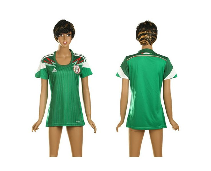 Messico Maglie Calcio Mondiali 2014 Donna Casa