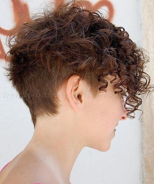 short curls More