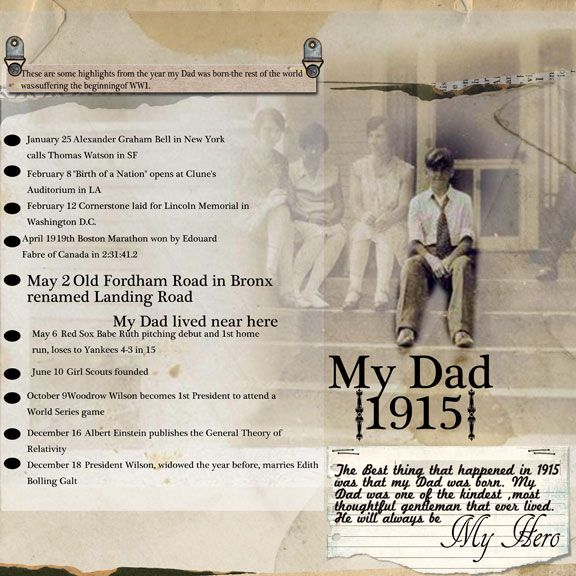 160 Best Scrapbook Family History Project Ideas Images On