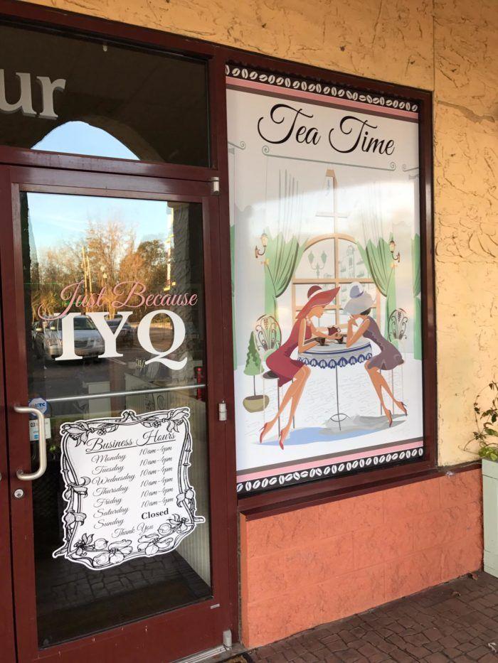 6. Just Because IYQ Tea Room - <em>2520 Hwy 17 Bus South, Oasis Plaza Unit 4, Murrells Inlet, SC (Garden City)</em>