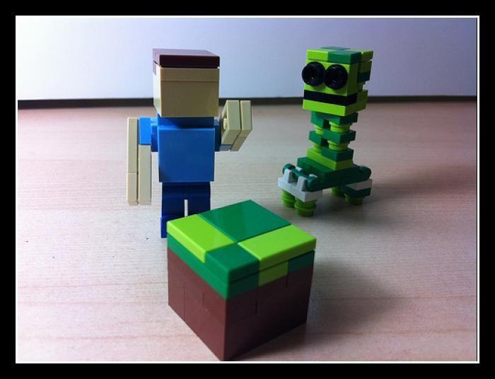 LEGO Minecraft Steve a...
