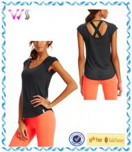 with back contrast mesh sleeveless light 100% cotton running t shirt women  Best seller follow this link http://shopingayo.space