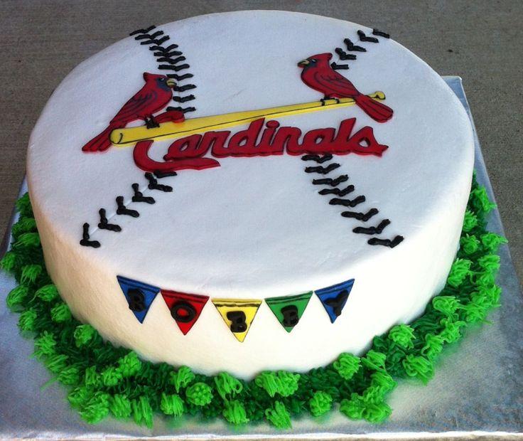 317 best Baseball Cakes images on Pinterest Baseball cakes St