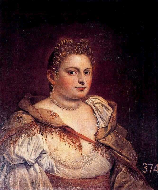 Venetian Woman ~ by Marietta Robusti (1560-1590) ~ 1580s ~ Robusti was a Venetian painter of the Renaissance period. She was the daughter of Tintoretto and is sometimes referred to as Tintoretta.