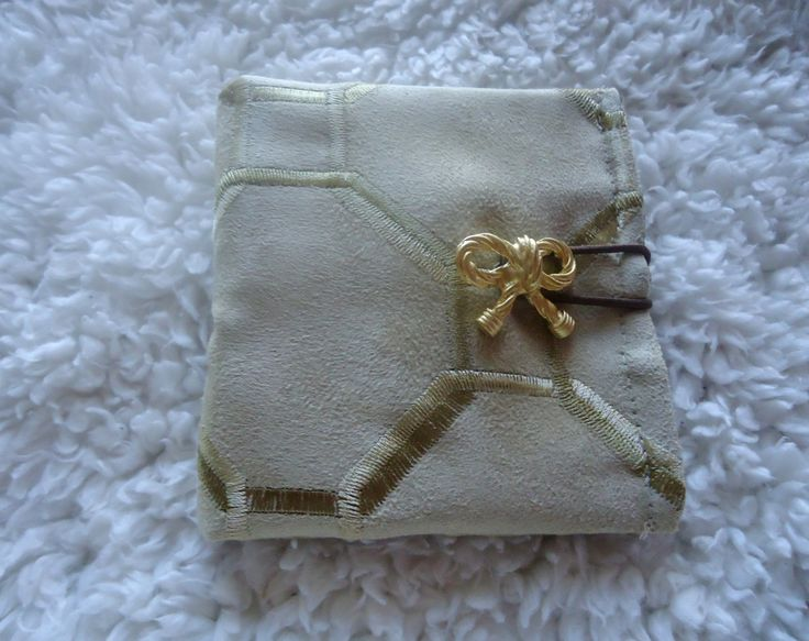 Handmade Fabric Tea Holder Wallet / Sugar Packet Holder / Personal Sanitizer Holder by MyCuteWallet on Etsy