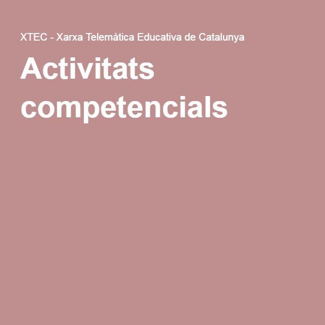Activitats competencials