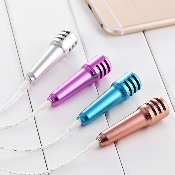 Mini Phone Microphone With 3.5mm Jack Earphone Portable Handheld Mic For iPhone Xiaomi Karaoke PC  Worldwide delivery. Original best quality product for 70% of it's real price. Hurry up, buying it is extra profitable, because we have good production sources. 1 day products dispatch from...