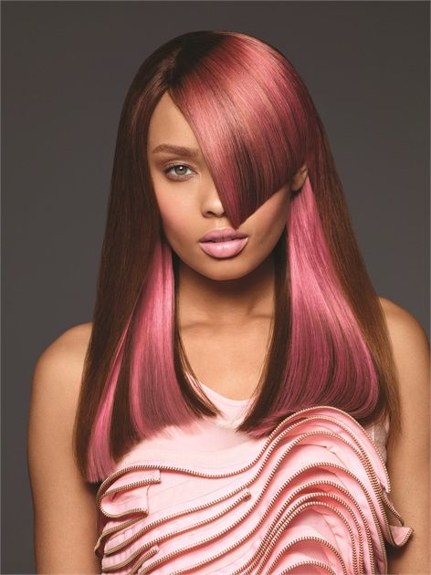 Strawberry Shine: Pink Color Formula from Paul Mitchell  - Hair Color - Modern Salon