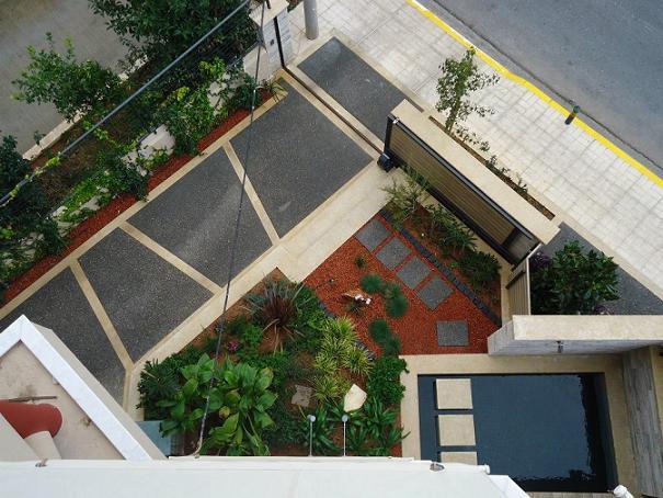 8 best front yard parking images on Pinterest | Front gardens, Front Home Parking Yard Design on driveway home design, parking roof design, stations for cars parking design,