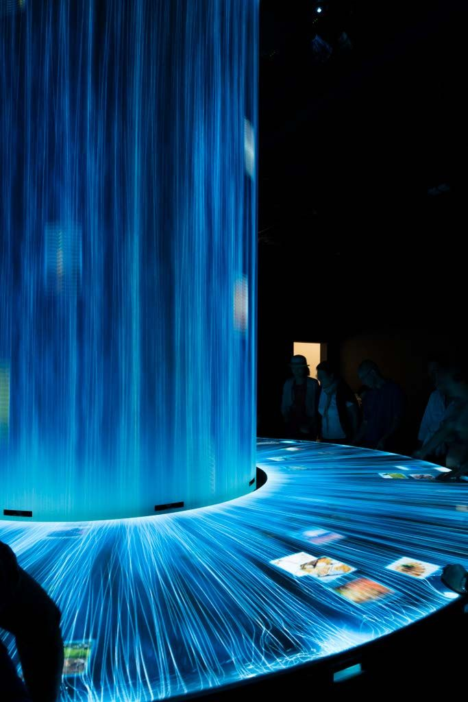 Japan Pavilion at Expo Milano 2015, design by TeamLab.  #ExpoMilano #Intralighting