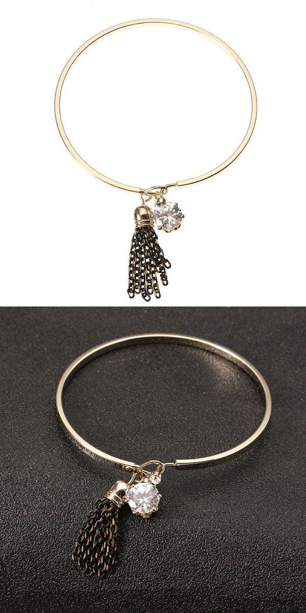 Bracelets 6 Inch Jassy Fashion Women Bracelet Anallergic Gold